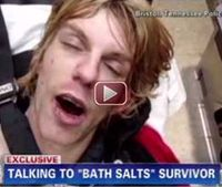 Bath salts addict filmed overdosing