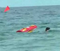 Lifeguard robot makes first water rescue
