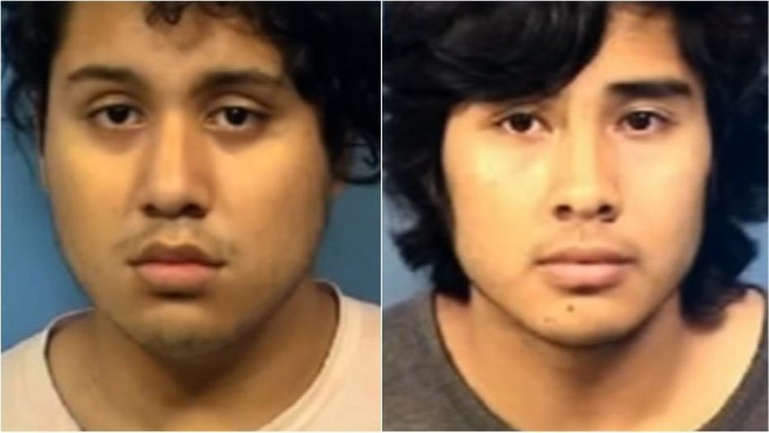 Jesus Correa, left, and Francisco Alvarado, both 18, face charges in connection with Luis Guerrero's death. (Photo/DuPage County State's Attorney's Office)