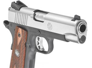 Ruger SR1911CMD: A timeless classic on a diet