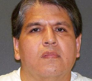 This undated photo provided by the Texas Department of Criminal Justice shows Ruben Ramirez Cardenas. Mexican citizen Cardenas is set for execution in Texas Wednesday, Nov. 8, 2017, for the 1997 abduction-slaying of his 16-year-old cousin in the Texas Rio Grande Valley. (Texas Department of Criminal Justice via AP)