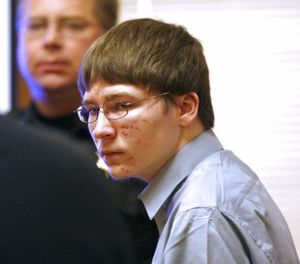 In this April 16, 2007, file photo, Brendan Dassey appears in court at the Manitowoc County Courthouse in Manitowoc, Wis. (Dan Powers/The Post-Crescent, Pool, File)