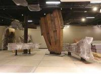 Sept. 11 museum putting hallowed artifacts in place