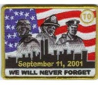 10 years after 9/11: The 9/11 Patch Project honors public safety and military
