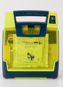 Photo Cardiac Science The Powerheart G3 Pro isdesigned for use by first responders.