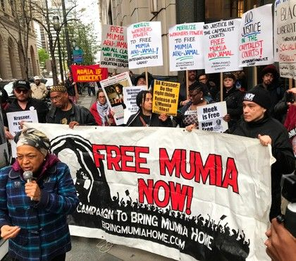 1e84baff089 Mumia Abu-Jamal's appeals hearing continued until August