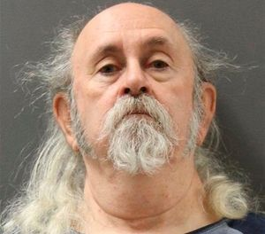 This 2018 booking photo released by the Yavapai County Jail shows Charles Cagley in Camp Verde, Ariz. Iowa officials are trying to decide whether to extradite or release the Arizona man jailed for more than two months since being arrested in March 2018 on an Iowa warrant from his escape from prison 37 years ago. (Yavapai County Jail via AP)
