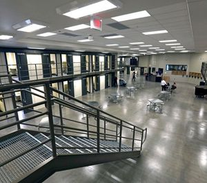 This June 1, 2018, file photo, shows a housing unit in the west section of the State Correctional Institution at Phoenix in Collegeville, Pa. (AP Photo/Jacqueline Larma, File)