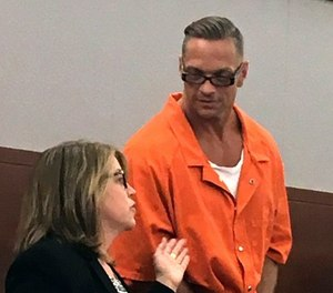 Prison officials want to reschedule Scott Dozier's twice-postponed lethal injection for mid-November using drugs received in a supplier error. (AP Photo/Ken Ritter, File)