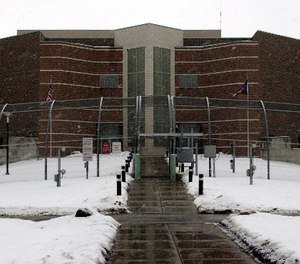 The Ohio State Penitentiary (OSP) is shown Monday, Jan. 8, 2001 in Youngstown, Ohio. (AP Photo/Tony Dejak)