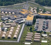Shakedown at La. prison after inmates die from possible drug overdose