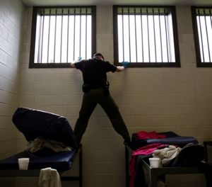 The main goal for any corrections facility is a well-prepared body of staff willing and capable of identifying, removing and documenting contraband in order to maintain a safe facility. (AP Photo/David Goldman)