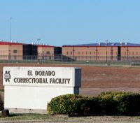 Official: Inmates start fires at Kan. prison in 'possible uprising'