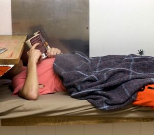 As part of $15 million worth of new security measures being put in place, the DOC is cutting off inmates' access to longstanding volunteer-run free books programs. (AP Photo/Elaine Thompson)