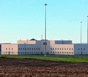 In this May 11, 2015 file photo, a housing unit is seen at sun rise at the Tecumseh State Correctional Institution in Tecumseh, Neb., Monday, May 11, 2015. (AP Photo/Nati Harnik, file)