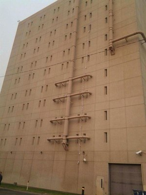 Eight inmates at the Spokane County Jail have died in about 14 months. (Reed Schmitt/KHQ via AP)
