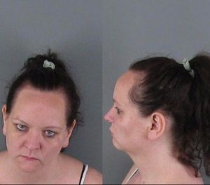 Mary Nicole Miskell, 37, of Shelby, was brought to Gaston County Jail. (Photo/Gaston County Sheriff's Office)