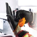 BLACK-FIRE* nitrile exam gloves