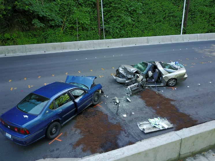 Traffic accident scenes can be mapped in record time allowing for reopening of roadways to improve both police officer and civilian driver safety. (Photo/Tukwila PD)