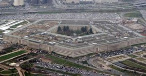 The Pentagon is seen in this aerial view in Washington, in this March 27, 2008 file photo.  (AP Photo/Charles Dharapak, File)
