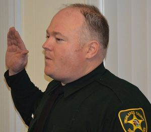 Deputy William Gentry died the next day after being shot. (Photo/Highland County Sheriff's Office)