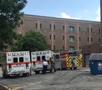 4 COs hospitalized after exposure to suspected drug fumes