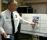 Making police ID cards secure
