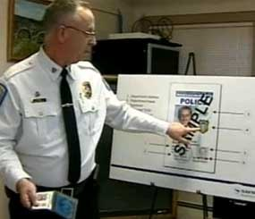 Police in Massachusetts are combatting police impersonators with new ID cards that make it easy to identify the authenticity of an officer. (NECN Image)