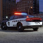 Customized Dodge Charger Pursuit Vehicle