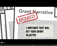 5 Mistakes That Will Get Your Grant Rejected