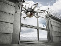 Correctional agencies' response to drone intrusions
