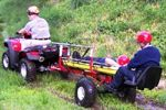 All Terrain Res-Q' (ATR) Off Road Patient Transport Trailer and 'MedLite' (MTD) EMS/Rescue Bed Insert