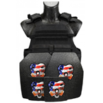 CATI AR500 Body Armor MOPC Carrier Level III Package w/ or w/o Side Plates