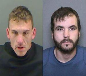 Escaped inmates Rotunno and Banks. (Holmes County Sheriff's Office Image)