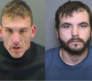 Captured inmates Michael Andrew Rotunno and Thomas Banks. (Holmes County Sheriff's Office Image)