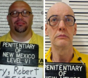 Robert Fry, left, and Timothy Allen were both convicted before legislators repealed the death penalty in 2009. (Photo/New Mexico DOC)
