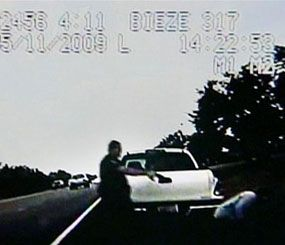 Image taken from a May 11, 2009 video released by the Travis County Constable's Office. (AP Photo)
