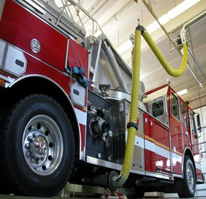 N.Y. fire dept. adds vehicle-exhaust removal system for firefighter health