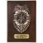 Law Enforcement Shield Plaque