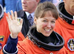 AP Photo/Terry RennaLisa Nowak pictured at the Kennedy Space Center, Fla., in 2005.