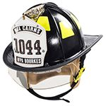 MSA Cairns 1044 Traditional Composite Fire Helmet