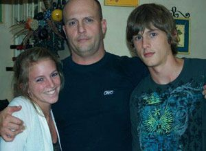 CO Michael Mellen stands with his daughter, Bryanna, and son, Michael. (Family provided)