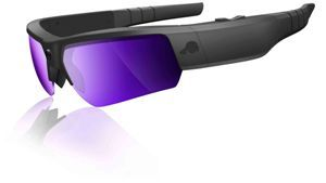 A pair of Pivothead HD recordable glasses.
