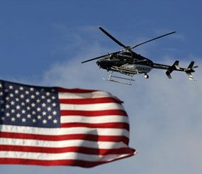 Black helicopters and mysterious warriors  are America's answer to the evil men that the anti-SWAT crowd wouldn't dare face.