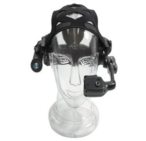 Motorola Solutions currently offers the HC1 headset computer, a hands-free wearable computer that can be used in harsh environments or remote locations. (Image Motorola Solutions)