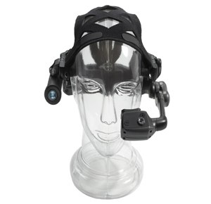 Motorola Solutions' HC1 Wearable Computer is a headset computer with advanced speech recognition and natural language software that supports six languages for responsive application command and control. (Image Motorola Solutions)