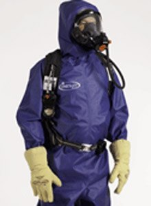 Photo Saint-Gobain Performance Plastics The fabric ofthe ONESuit Shield maintains a high level of protection while staying flexible and comfortable.
