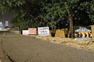 The firefighters we spoke with noted how much the community support means. (Photo/Courtesy of Mike Daly)