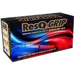 ResQ-Grip Gloves – Premium Nitrile Exam Glove with Advanced Grip Technology. Blue or Black color. S – 3XL
