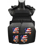 CATI Armor MOPC with AR500 Level III Armor Plates Package w/ or w/o Side Plates